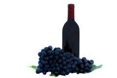 Vino y uvas libre illustration