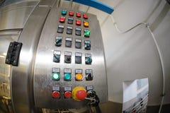 Vinodlingutrustning med knappar Arkivfoto