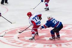A Vinogradov (77) versus M Salimov (25) Zdjęcie Stock
