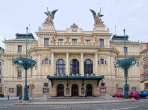 Vinohrady-Theater Stockfotos