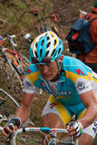 Vinokourov - Mortirolo Royalty Free Stock Image