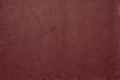 Vinous кожаная grained картина предпосылки текстуры Стоковые Фото