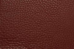 Vinous кожаная grained картина предпосылки текстуры Стоковая Фотография