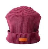 Vinous hat Royalty Free Stock Image