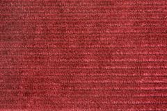 Vinous velveteen fabric. For backgrounds or textures Royalty Free Stock Photos