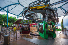 Vinpearl Cable Car Royalty Free Stock Images