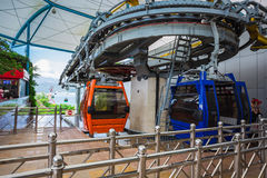 Vinpearl Cable Car Stock Images