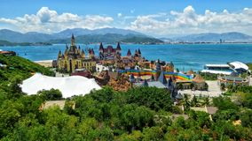 Vinpearl Land Nha Trang. This is the scene of Vinpearl Land Nha Trang in Vietnam stock image