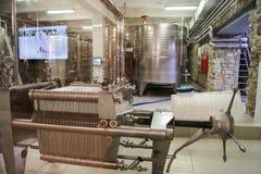 Vinproduktion Abrau Durso Fotografering för Bildbyråer
