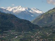 Vinschgau dolina Zdjęcia Royalty Free