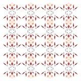 VINT exótico luxuoso Mandalas do bem-estar BRANCAS--DELIC Vermelho Fotos de Stock Royalty Free