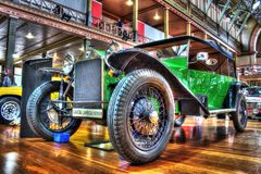 Free Vintage 1920s Italian Lancia Lambda Stock Photo - 101810990