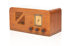 Vintage 1940's Radio Stock Image