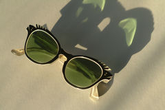 Vintage 1950's Sunglasses. Seem to making a comeback these days. They were fun to wear and original in its design Royalty Free Stock Photos