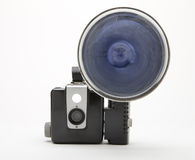 Vintage 1960s Film Camera Stock Photos