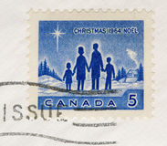 Vintage 1964 Postage Stamp Canada Christmas Royalty Free Stock Photography