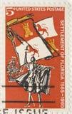 Vintage 1965 Stamp of Florida Royalty Free Stock Image