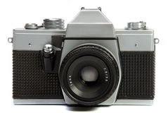 Vintage 35 mm Photo camera Royalty Free Stock Image