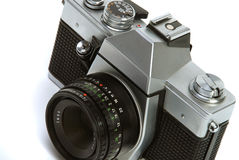 Vintage 35 mm Photo camera royalty free stock images