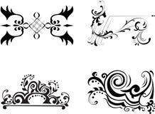 Vintage. Patterns for design. Vector illustration Royalty Free Stock Photos