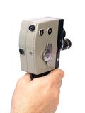 Vintage 8 mm cine camera Stock Photography