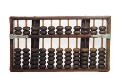 Vintage abacus. Ball on white background Royalty Free Stock Images
