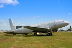 Vintage abandoned airplane Royalty Free Stock Image