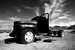 Vintage abandoned car Stock Photo