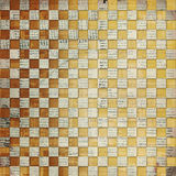 Vintage abstract background. With chequered chess ornament stock illustration