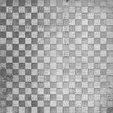 Vintage abstract background. With chequered chess ornament Stock Image