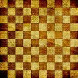 Vintage abstract background. With chequered chess ornament Royalty Free Stock Image