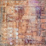 Vintage abstract background. Vintage collage on old paper Royalty Free Stock Images
