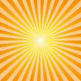 Vintage abstract background explosion sun rays vector. Vintage abstract background explosion of yellow and orange rays of the sun. Vector illustration