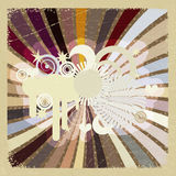 Vintage abstract background. Royalty Free Stock Photography