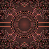 Vintage Abstract Card Royalty Free Stock Image
