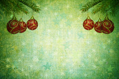 Vintage abstract christmas background Stock Photography