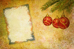 Vintage abstract christmas background Stock Images