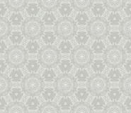 Vintage abstract floral seamless pattern. Vector retro texture. Grey colors. Royalty Free Stock Photo