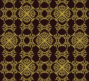 Vintage Abstract geometric floral classic pattern Stock Images
