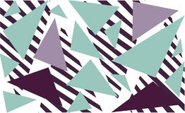 Vintage abstract geometric print, great design for any purpose. vector illustration