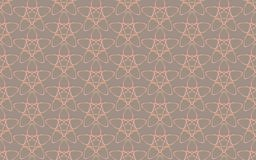 Vintage Abstract geometric star pattern ornament Royalty Free Stock Images