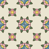 Vintage abstract pattern Royalty Free Stock Photos