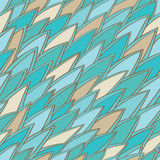Vintage abstract pattern. Seamless  background with abstract ornament royalty free illustration