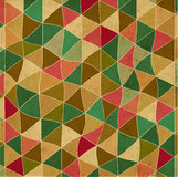 Vintage abstract pattern of triangles Royalty Free Stock Photos