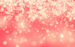 Vintage abstract red snowflake Royalty Free Stock Photos