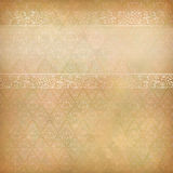 Vintage Abstract Retro Lace Banner Background Stock Images
