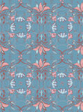 Vintage abstract seamless floral pattern Stock Photos