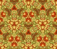 Vintage abstract seamless pattern, background. Composed of colored geometric shapes. Useful as design element for texture and artistic compositions Stock Photo