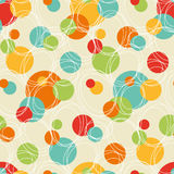 Vintage Abstract Seamless Pattern Royalty Free Stock Images