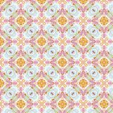 Vintage abstract seamless pattern, textile design stock photography